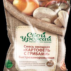 Смесь овощная  картофель с грибами