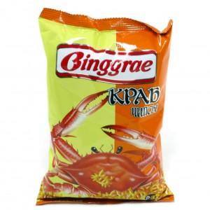 Чипсы со вкусом краба Binggrae