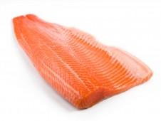 Филе лосося на коже с/м trim D премиум