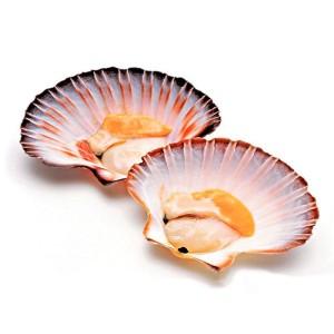 Филе мор. гребешка на створке с икрой