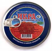 Икра горбуши без консервантов  замороженная ЭКО продукт, 200 г