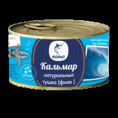 Кальмар тушка (филе) порц. б/к натуральный