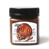 Крем-мед липовый с корицей и грецким орехом