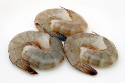Креветки очищенные с хвостиком 41/50 без головы с хвостом