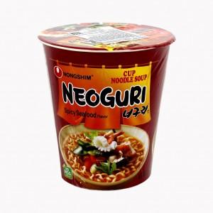 Лапша  Neoguri острая с морепродуктами (в стакане)