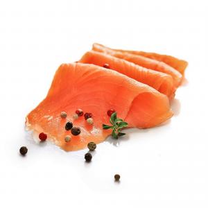 Филе лосося (Семга) сл. соли с розовым перцем кусок