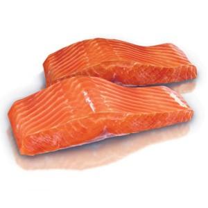 Филе лосося (Семга) сл. соли от 200 гр.