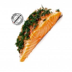 Филе лосося (Семга) сл. соли с укропом кусок