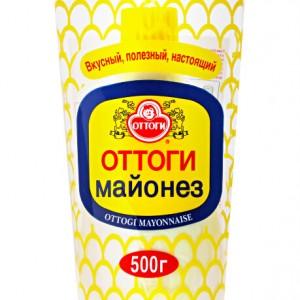 Майонез натуральный ОТТОГИ (ЗОЛОТОЙ) 0,5 кг