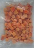 Папайя замороженная кубики