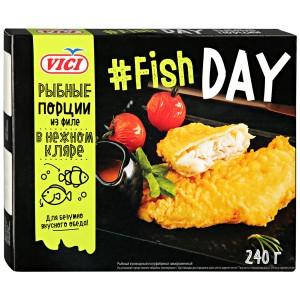 Порции рыбные из филе в кляре VICI
