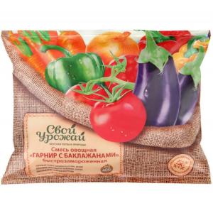 Смесь овощная гарнир с баклажанами