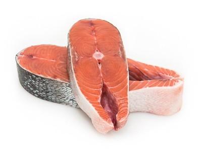 Стейки кеты морской (дикой)  2 кг